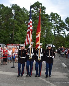Military Flag Processional
