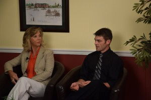 Margie Dunn and Cody Kleinwolterink talk about Military on the Move