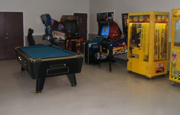 The Broad Creek Recreation Center Game Room