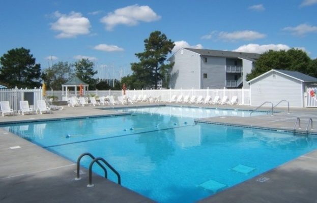 The Broad Creek Recreation Center Outdoor Pool