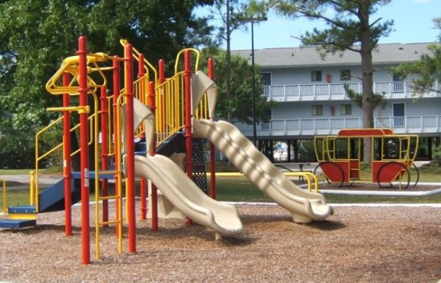 The Broad Creek Recreation Center Playground
