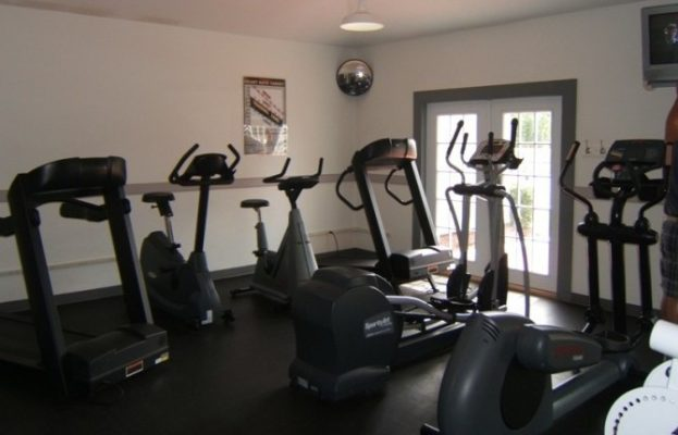 The Broad Creek Recreation Center Exercise Room