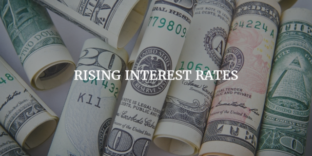 rising interest rates in real estate market